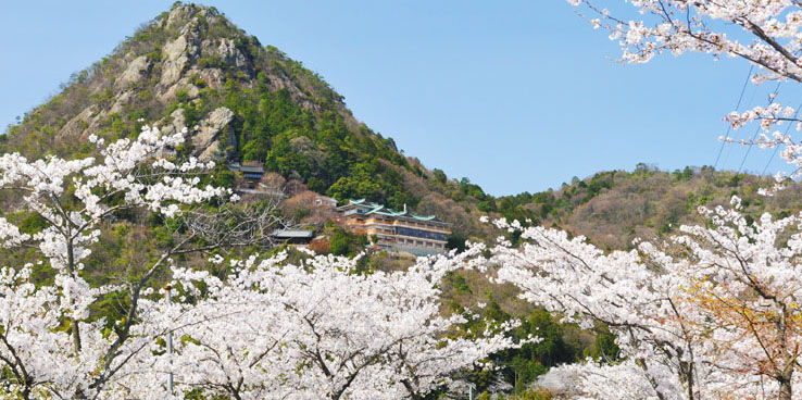 Maine, Higashi-Omi-shi visual (em primavera)